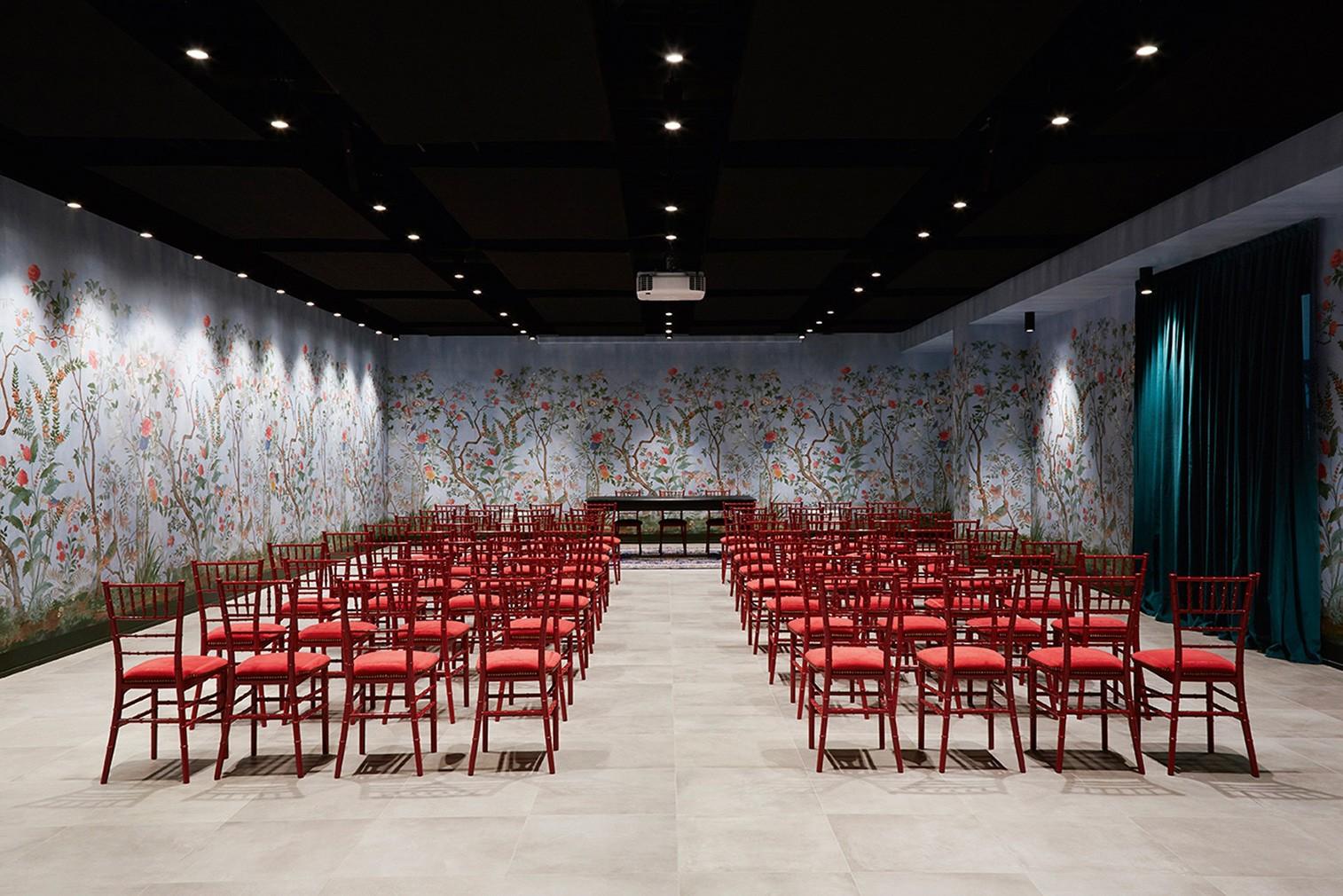 Salão Gucci ArtLab (Foto: Divulgação)