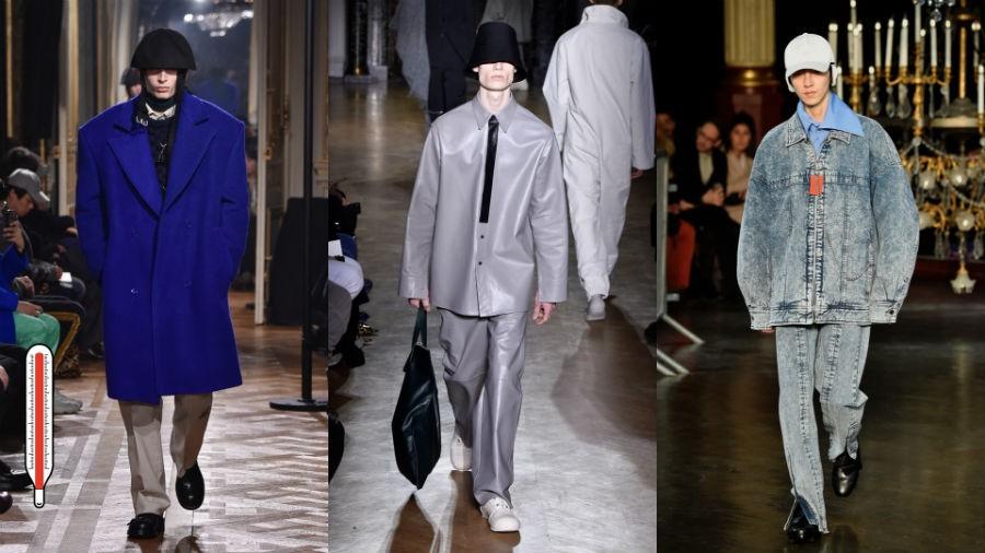 Tendências da Semana de Moda Masculina de Paris (Foto: GettyImages)