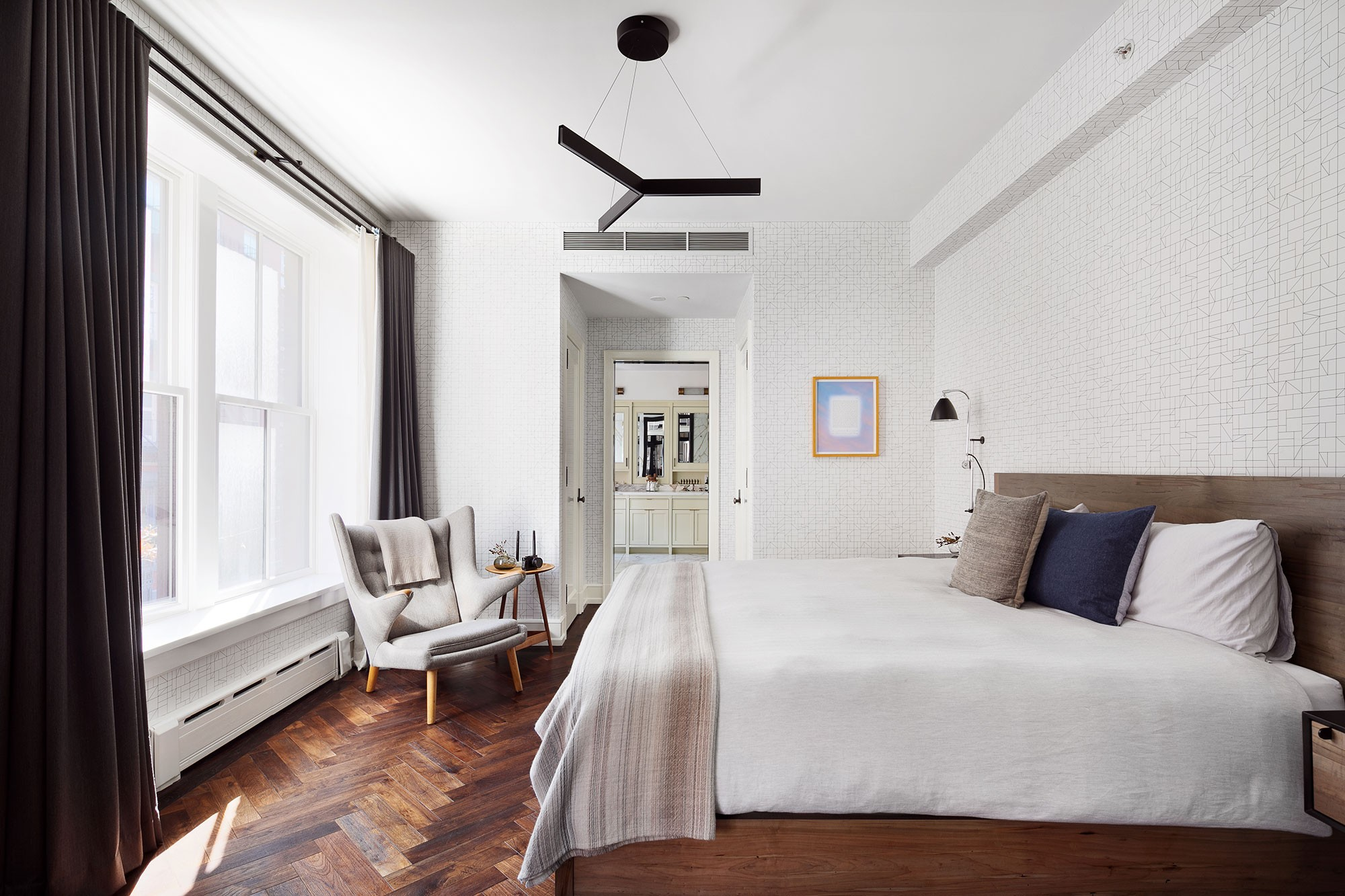 Apartamento de Karlie Kloss e Joshua Kushner em Nova Iorque (Foto: Divulgação)